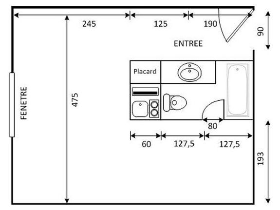 27m² plan